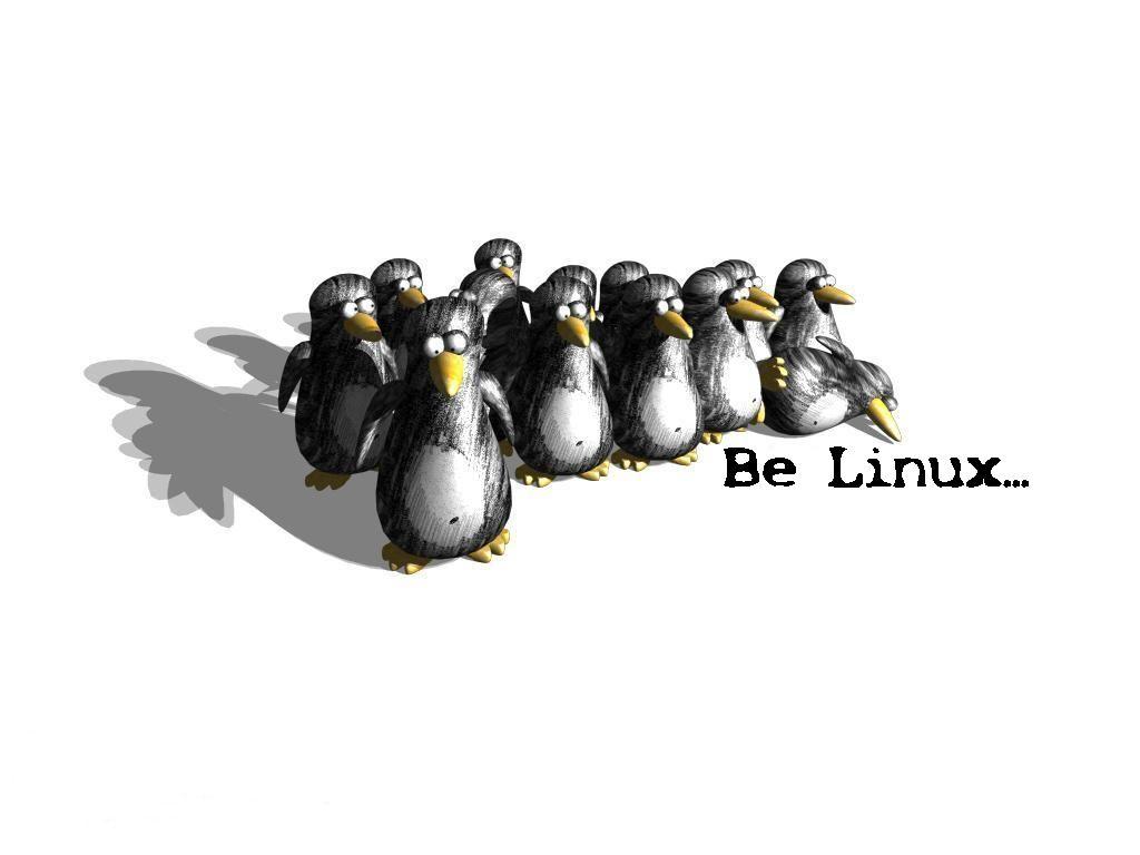Wallpaper, Linux, be Lunix, фото, скачать, обои для рабочего стола