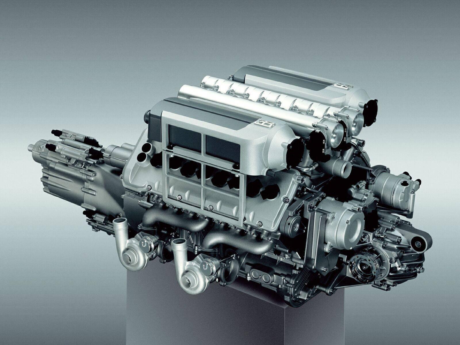 Motor Bugatti Veyron wallpaper, фото, обои для рабочего стола, машина, скачать, двигатель 1001 л.с.