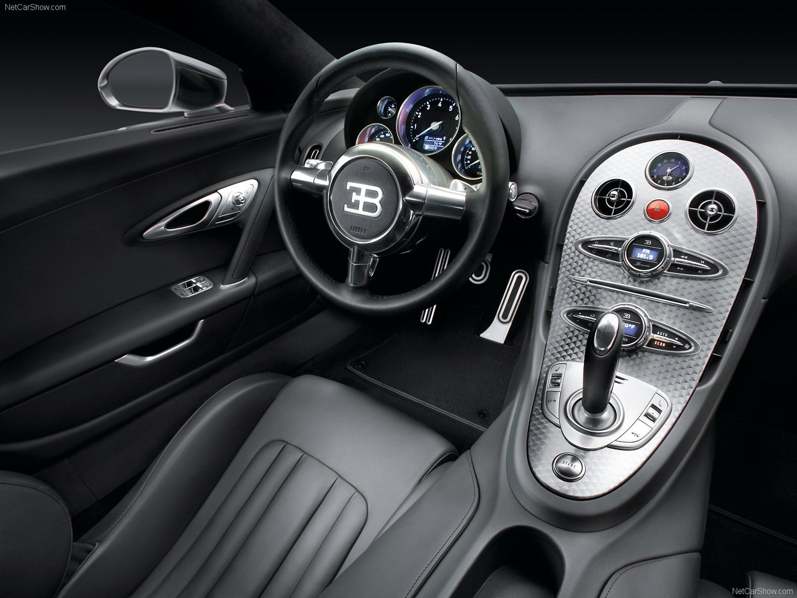 Салон машины Bugatti, wallpaper, скачать фото