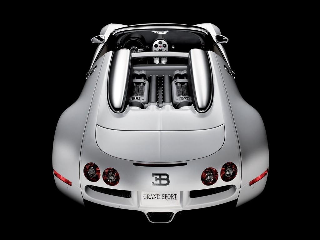 Белый Bugatti veyron, wallpaper, скачать фото обои
