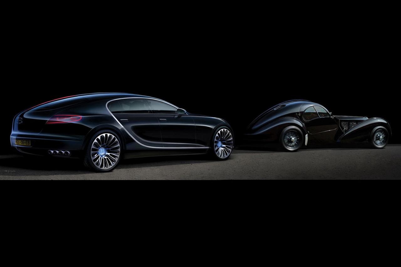Старый и новый Бугатти, машины, скачать фото, обои, Bugatti