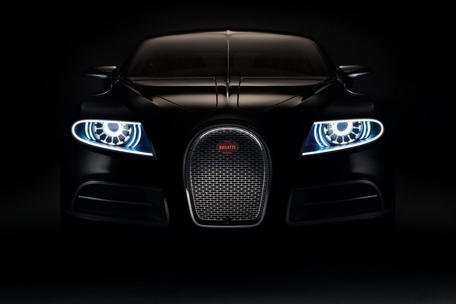 черный, фары, Bugatti, car, wallpaper, скачать фото обои на рабочий стол