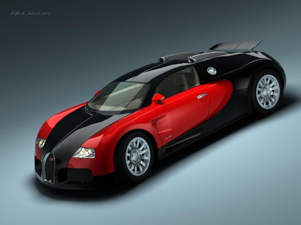 Красный Bugatti Veyron wallpaper, фото, обои для рабочего стола, машина, скачать