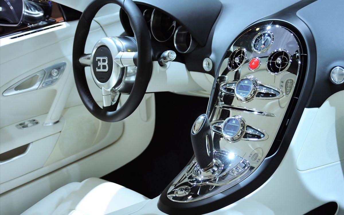 new salon, белый салон, Bugatti, car, wallpaper, скачать фото обои на рабочий стол