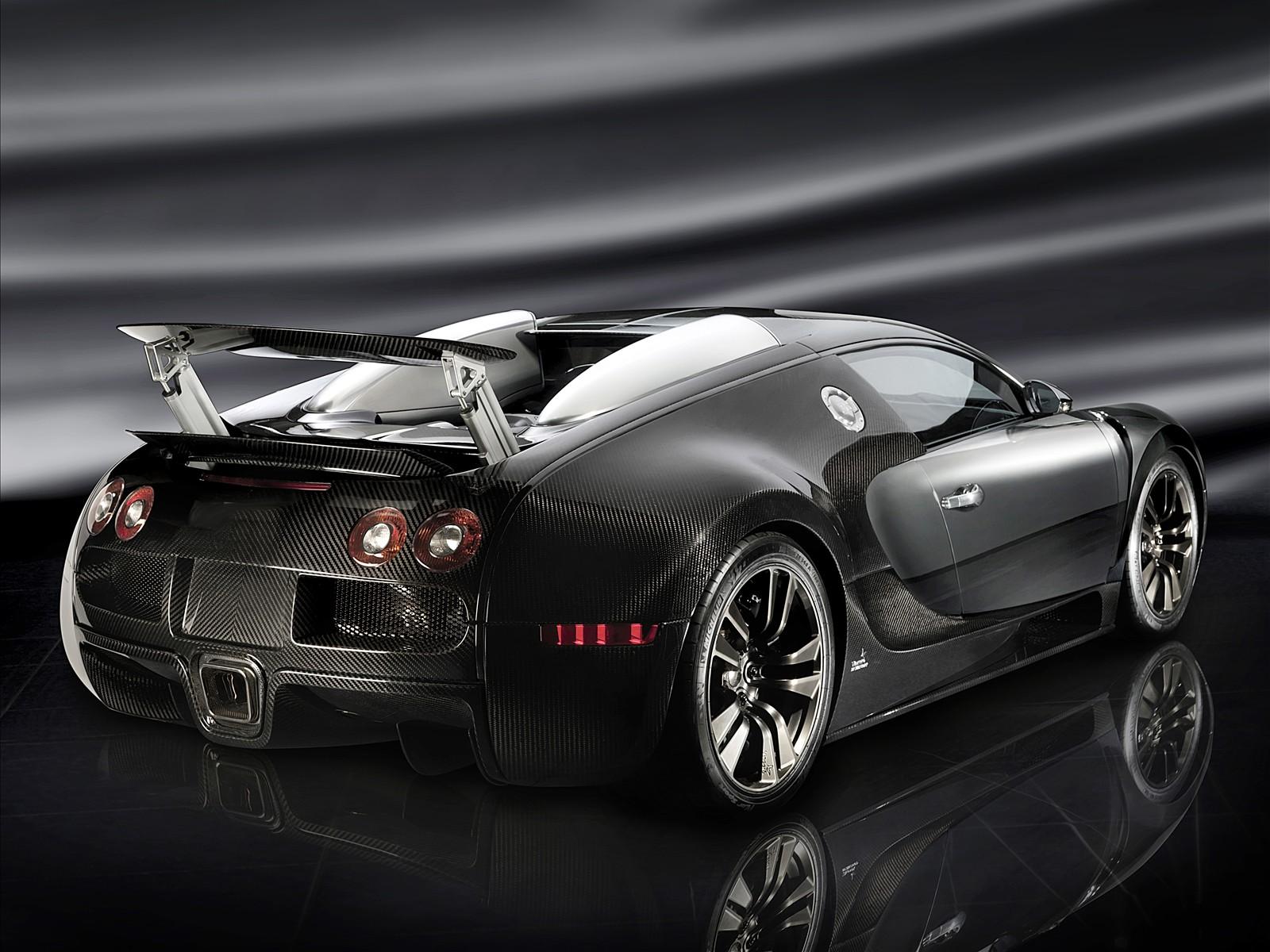 Черный, Black, Bugatti, car, wallpaper, скачать фото обои на рабочий стол
