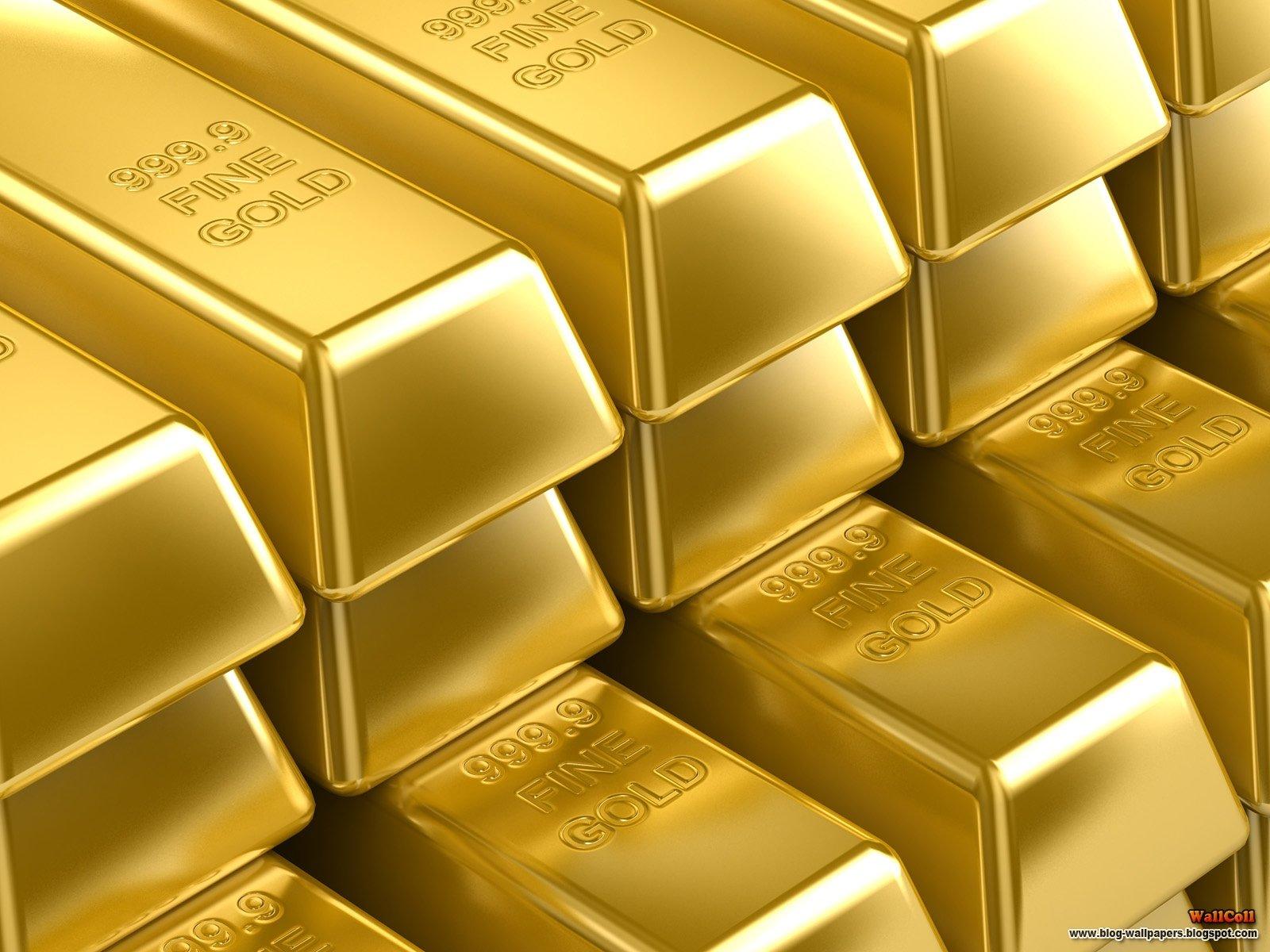 золотые слитки, скачать фото, gold wallpaper, золото