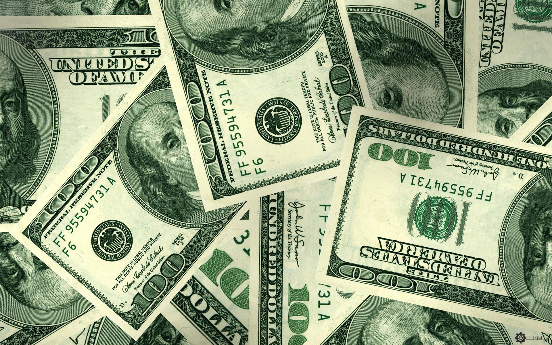доллары, скачать обои для рабочего стола, dollars, wallpaper