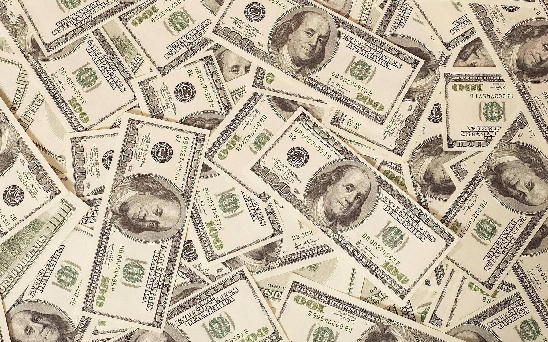 доллары, скачать фото, обои на рабочий стол, wallpaper