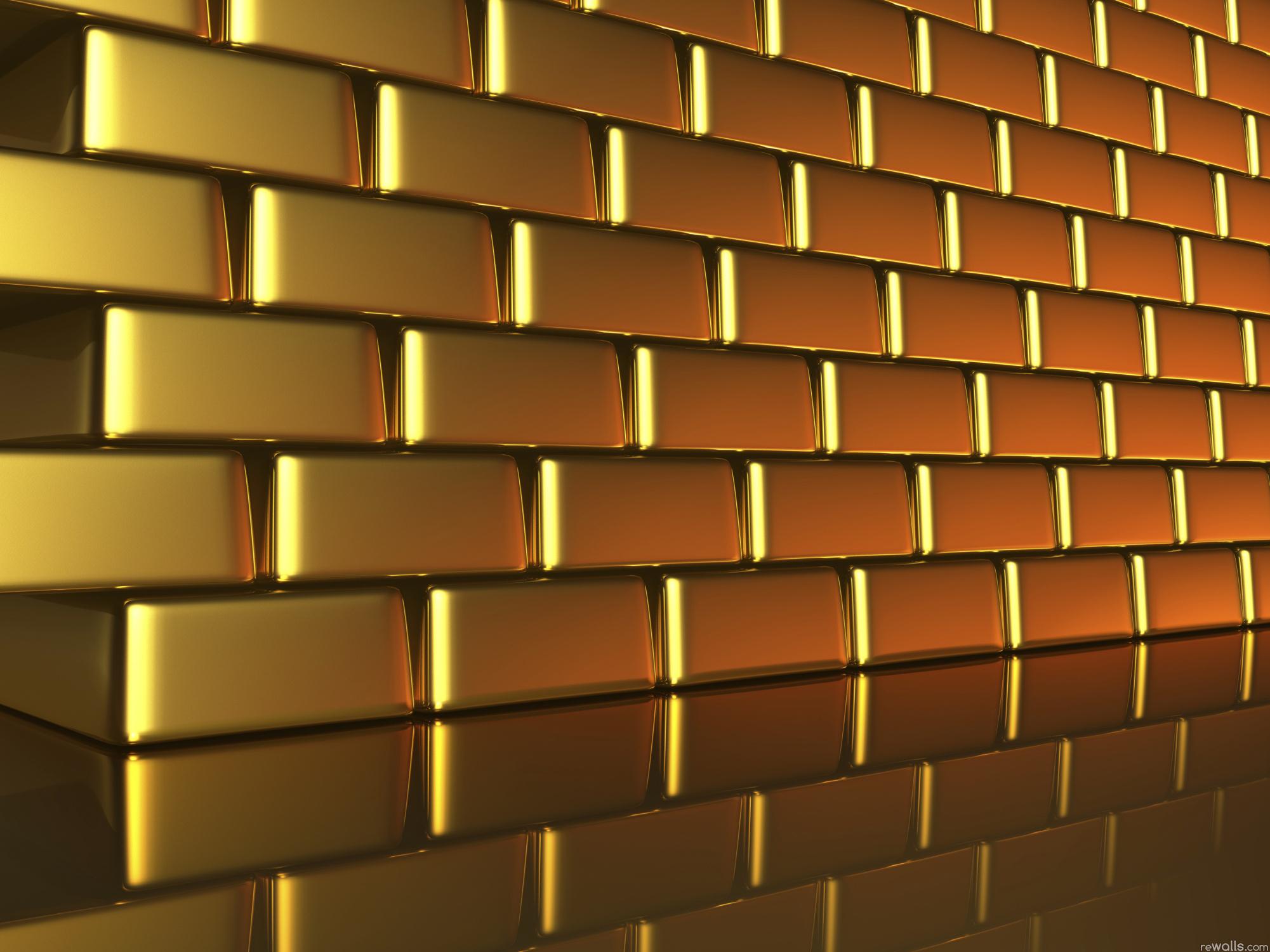 золотые слитки, скачать фото, обои на рабочий стол, gold