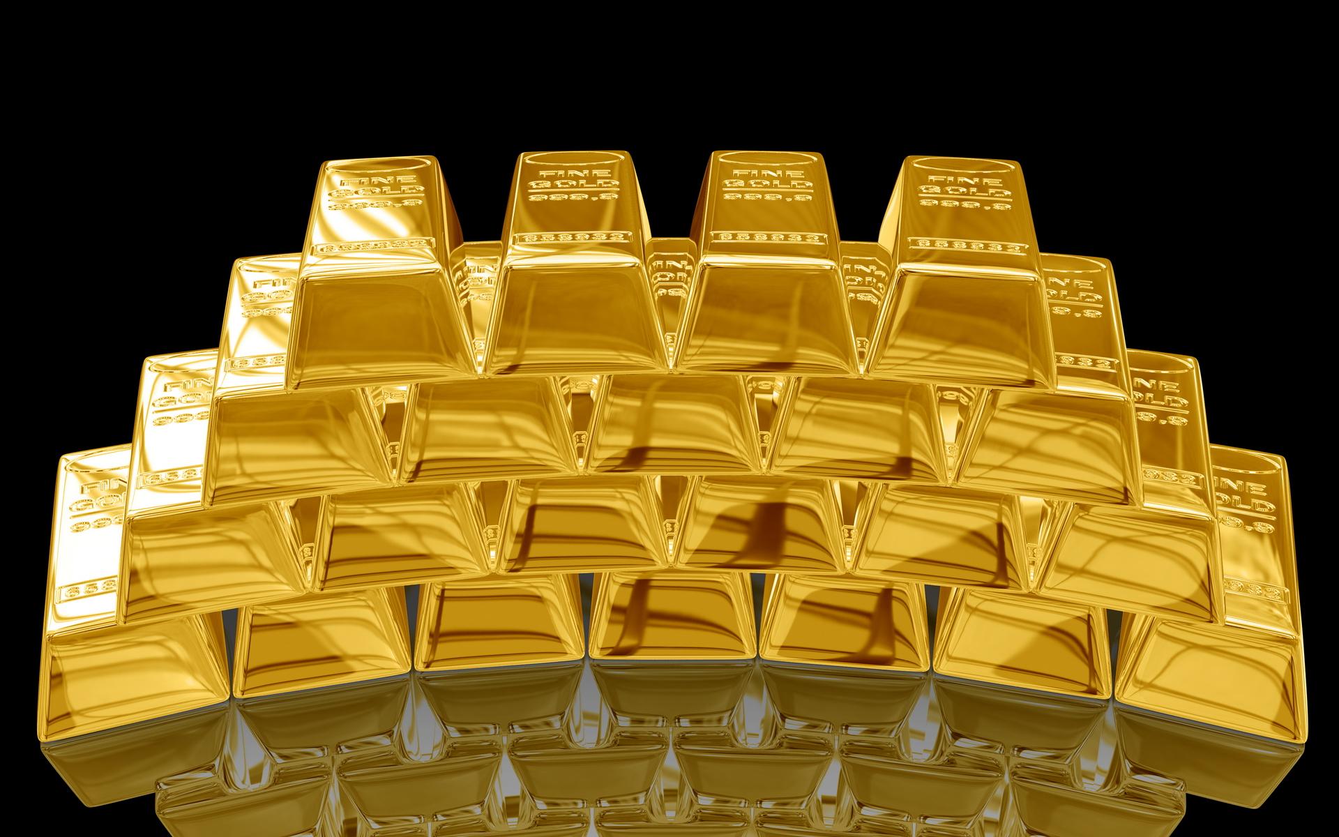 gold, скачать фото, золото, золотые слитки, скачать обои для рабочего стола