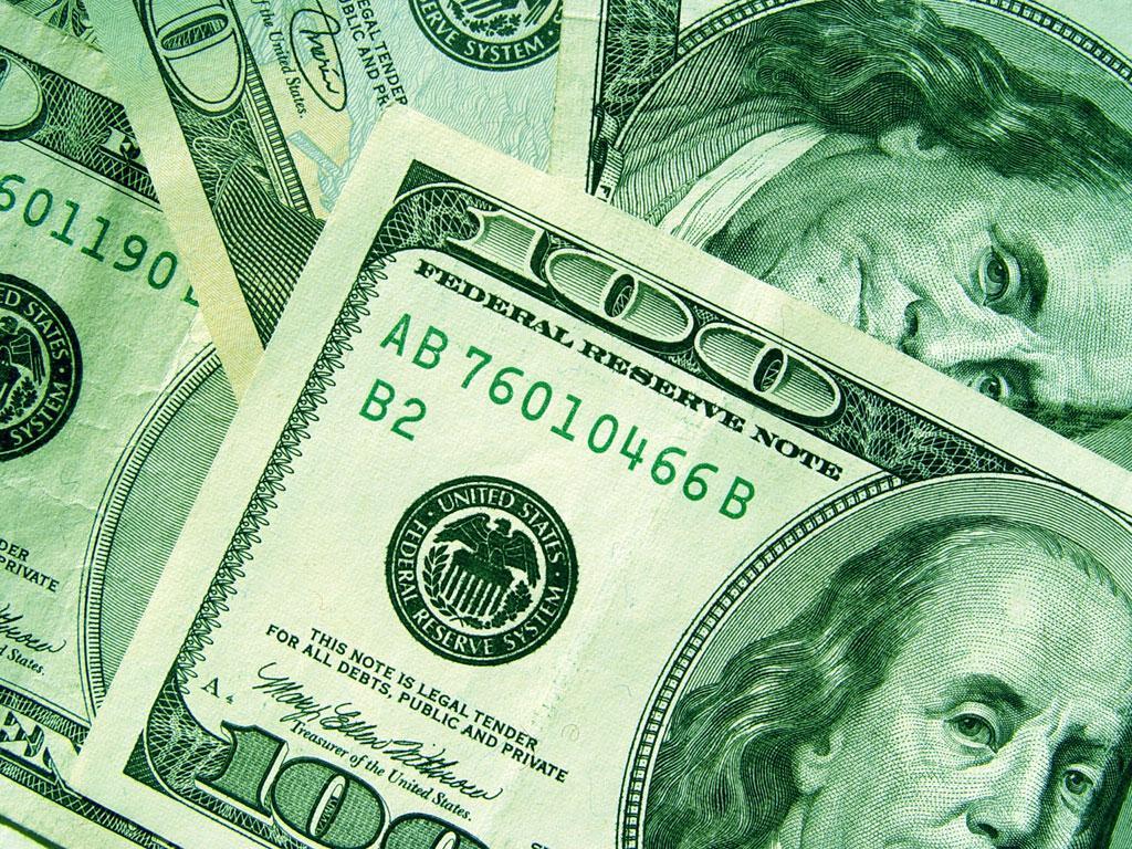 Для рабочего стола доллары деньги