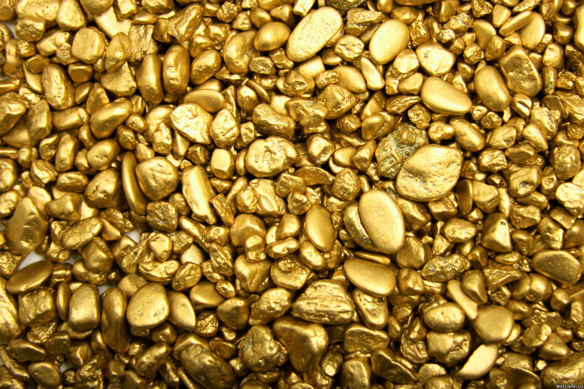 gold, золото, обои для рабочего стола, скачать фото, самородки