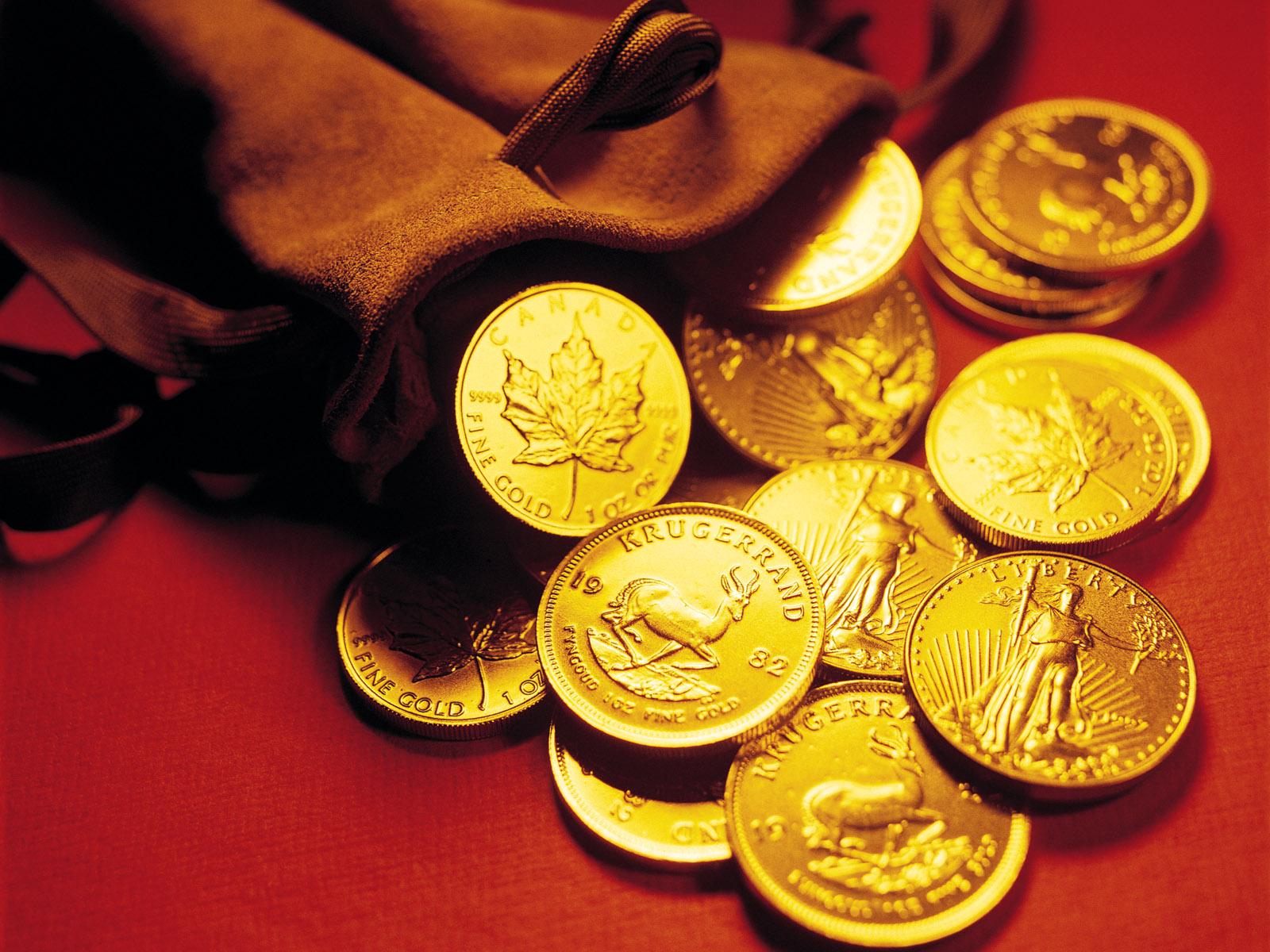 золотые монеты, фото, обои для рабочего стола, gold money