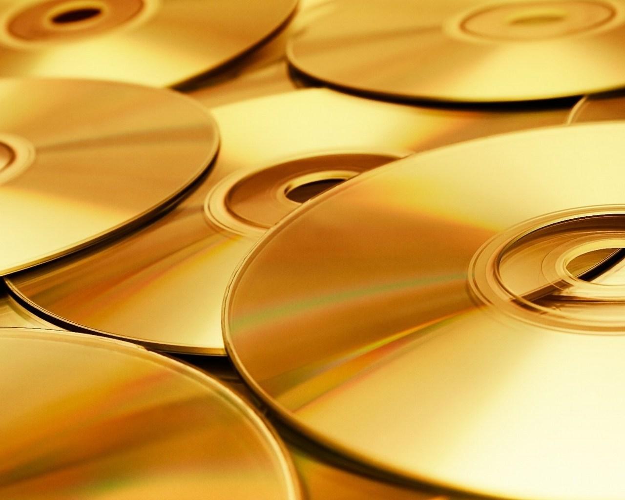 диски из золота, скачать фото, обои на рабочий стол, wallpaper gold