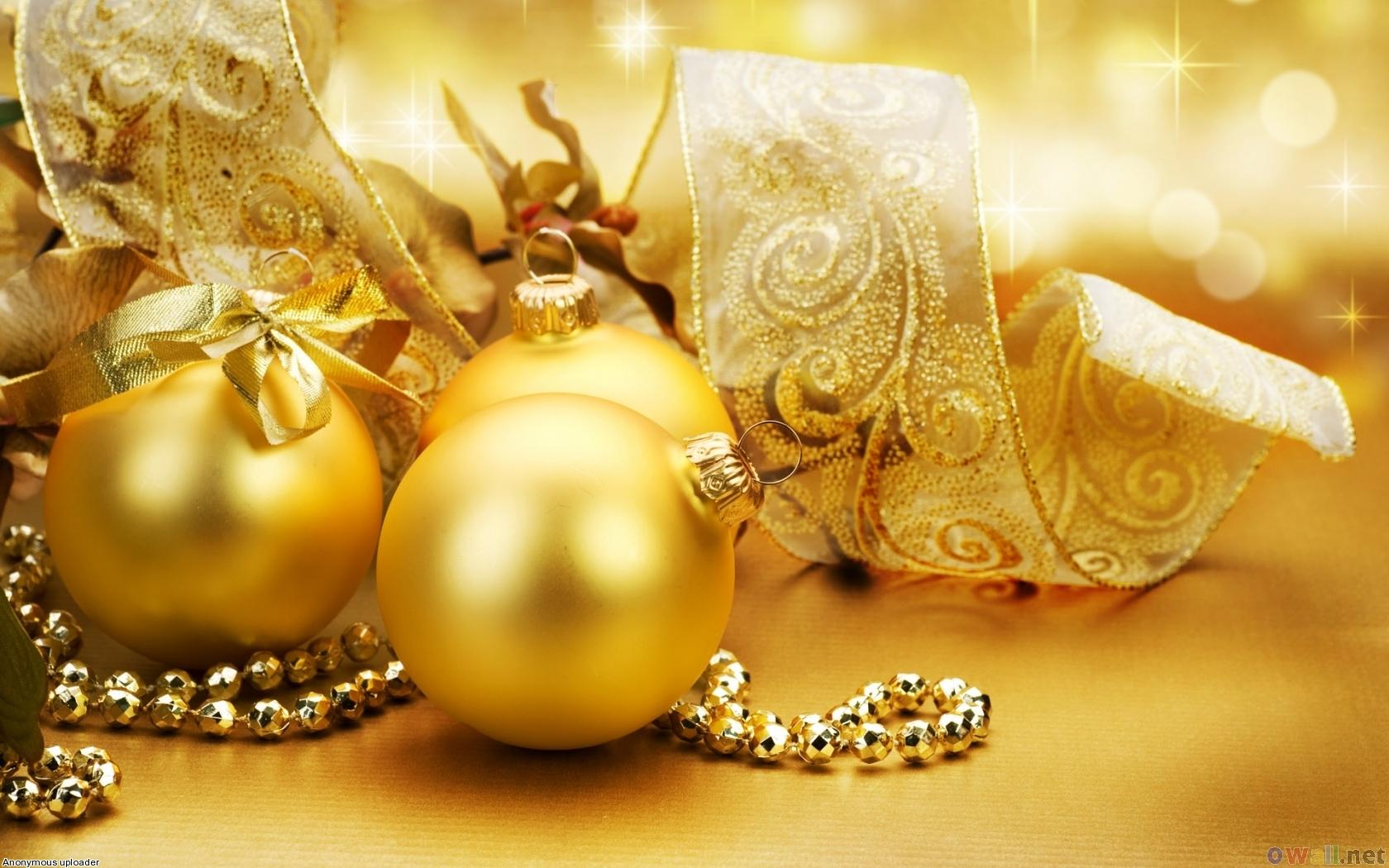 золото, gold, обои для рабочего стола, шары из золота, золотые шары