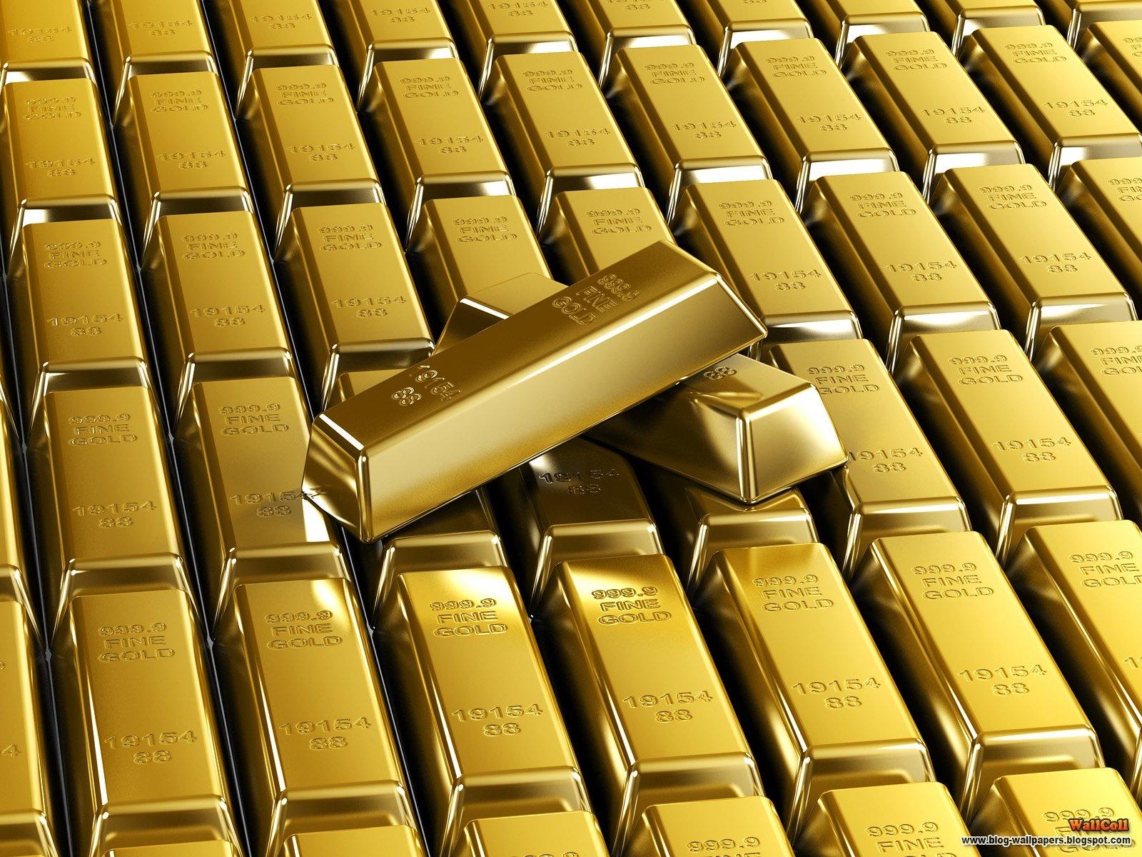 слитки из золота. скачать фото, gold, wallpaper, скачать обои для рабочего стола