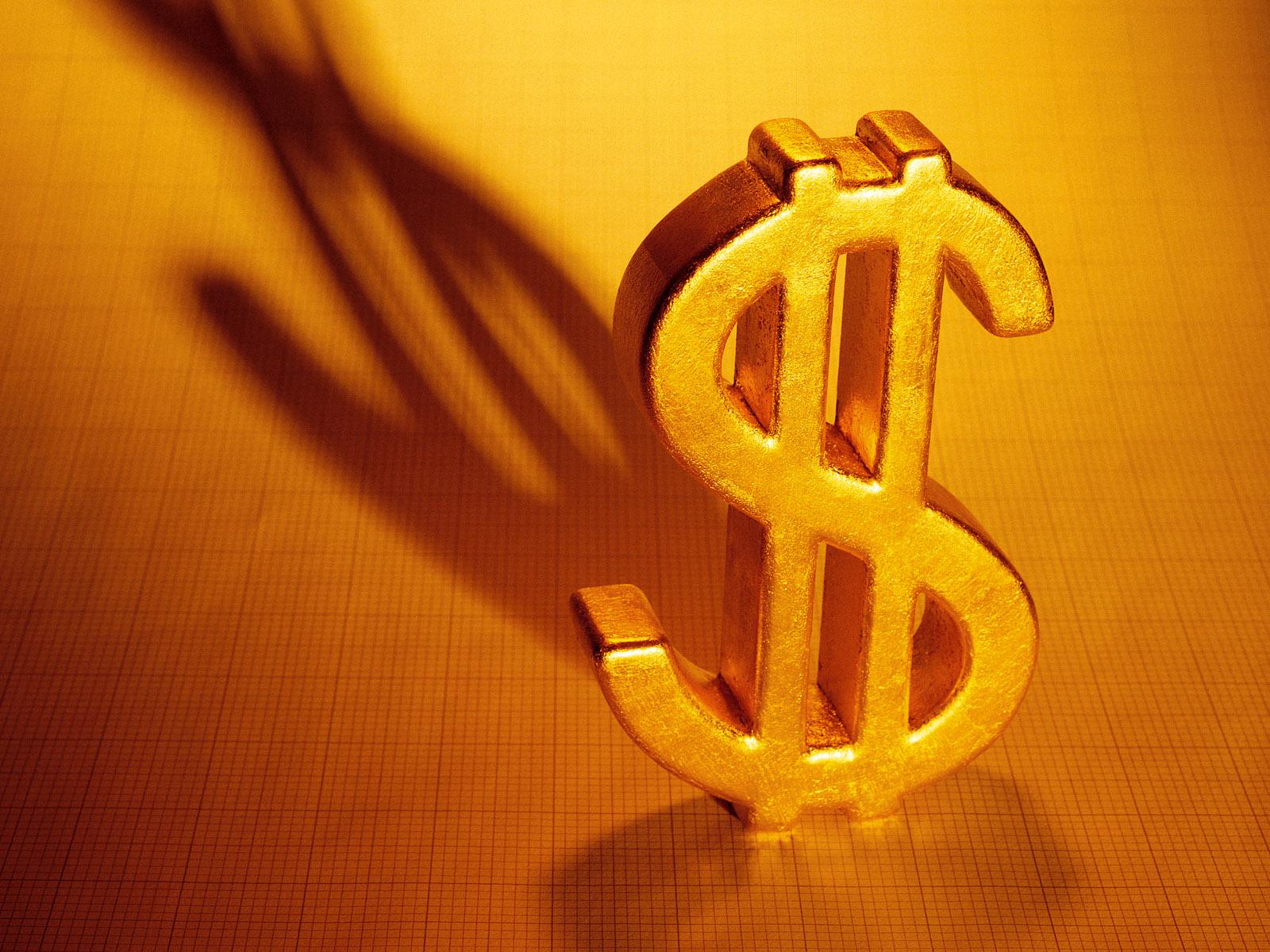 золотой доллар, скачать фото, обои для рабочего стола