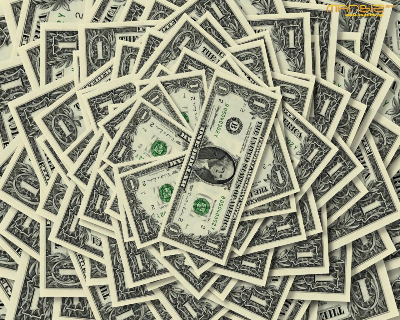 много долларов, деньги, обои на рабочий стол, скачать фото, wallpaper