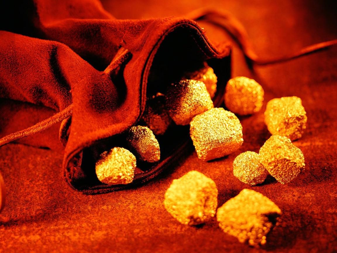 золотые самородки, скачать фото, обои для рабочего стола, золото, gold wallpaper
