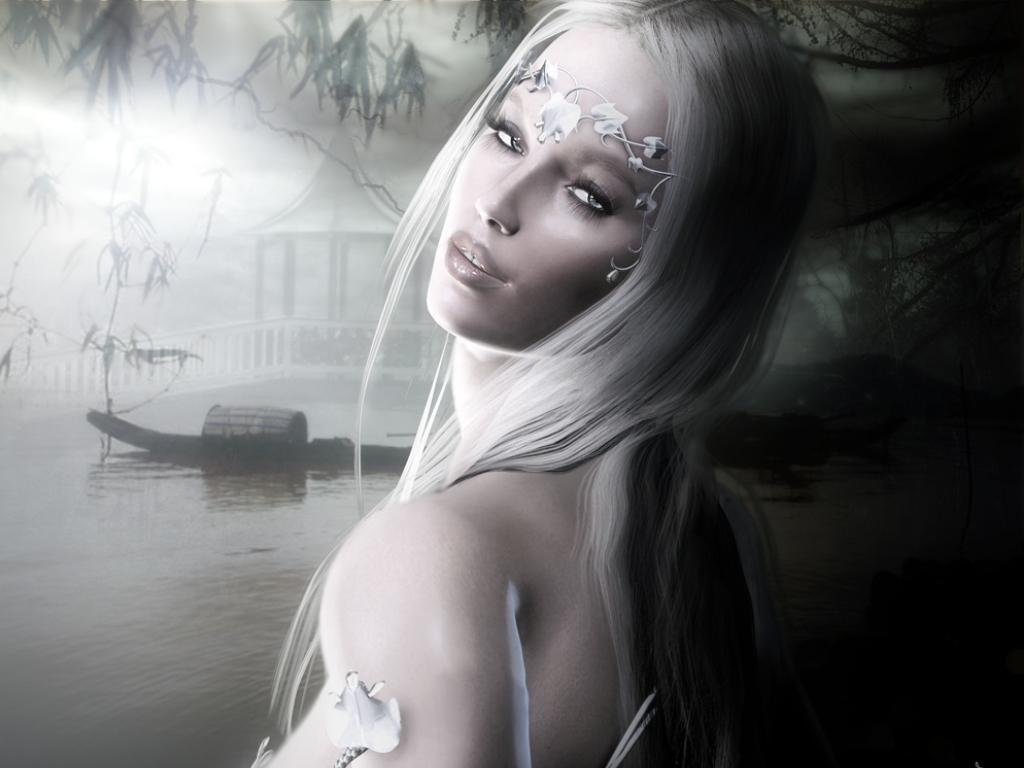 женщина эльф, скачать фото, обои на рабочий стол, elf wallpaper