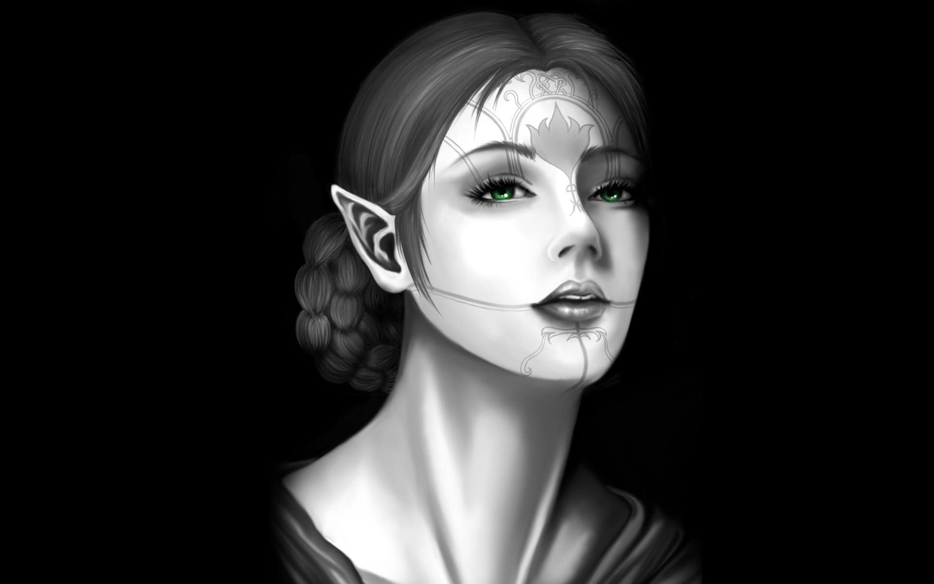 девушка эльфийка
