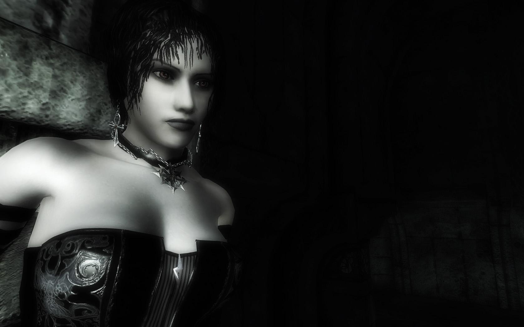 girl vampire, wallpaper, скачать фото, обои для рабочего стола