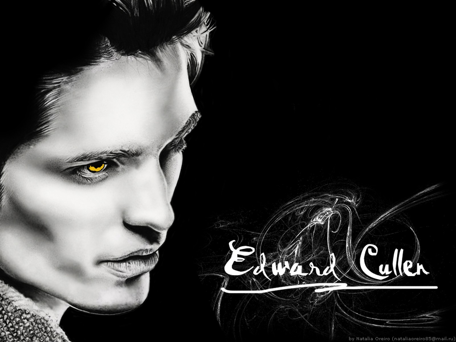 Эдвар Каллен, фото, обои для рабочего стола, вампир, Edward Cullen, wallpaper