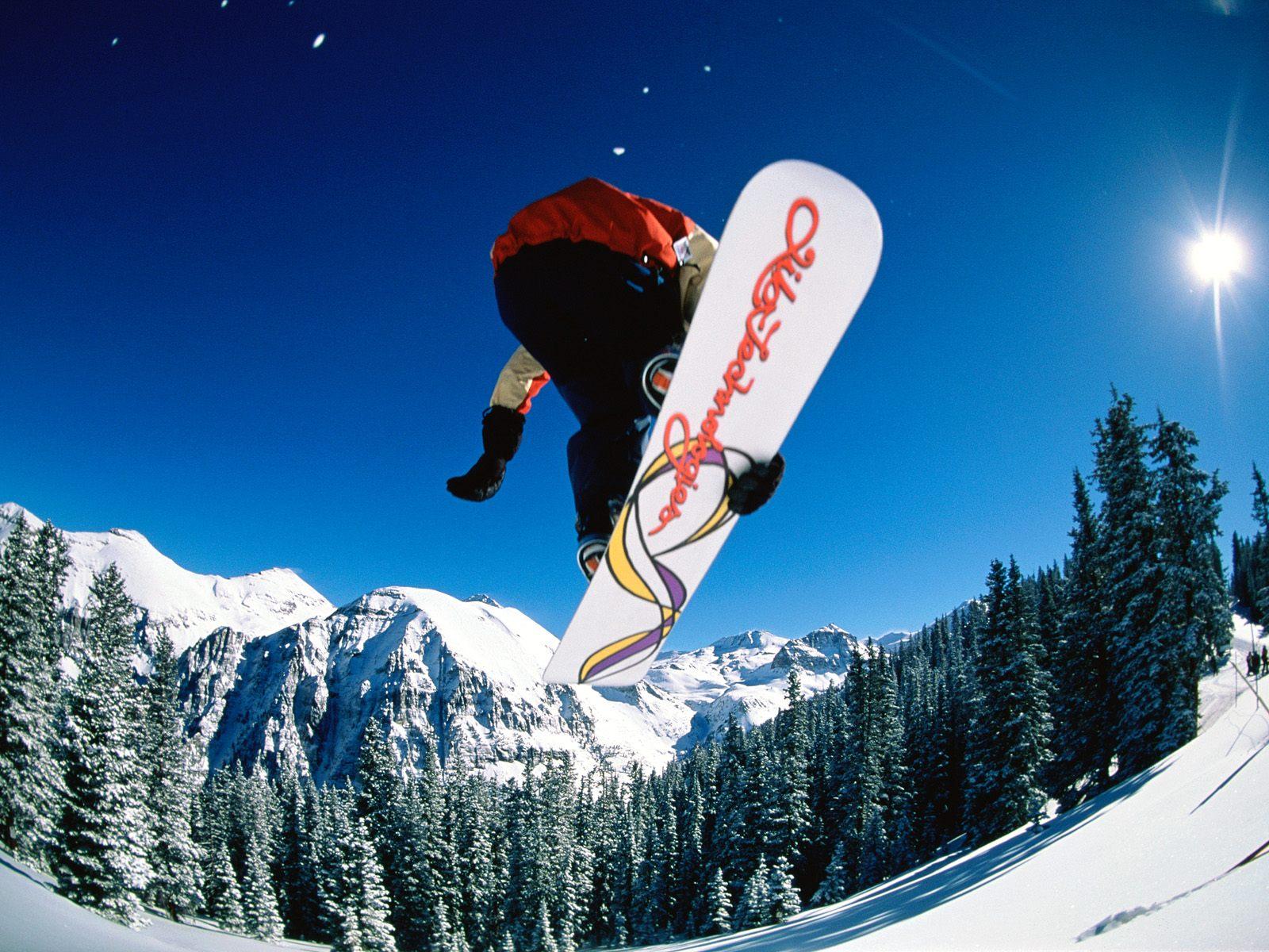 сноуборд, трюк, прыжок, фото, обои для рабочего стола, скачать