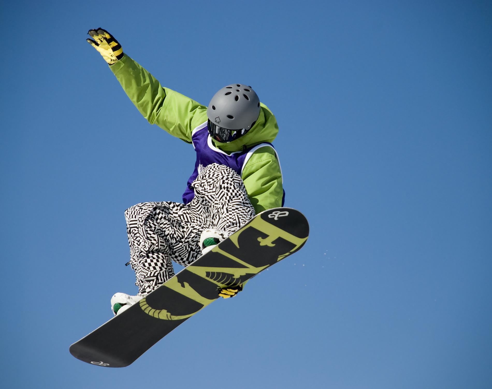 сноубордист, трюк, прыжок, фото, обои для рабочего стола, скачать