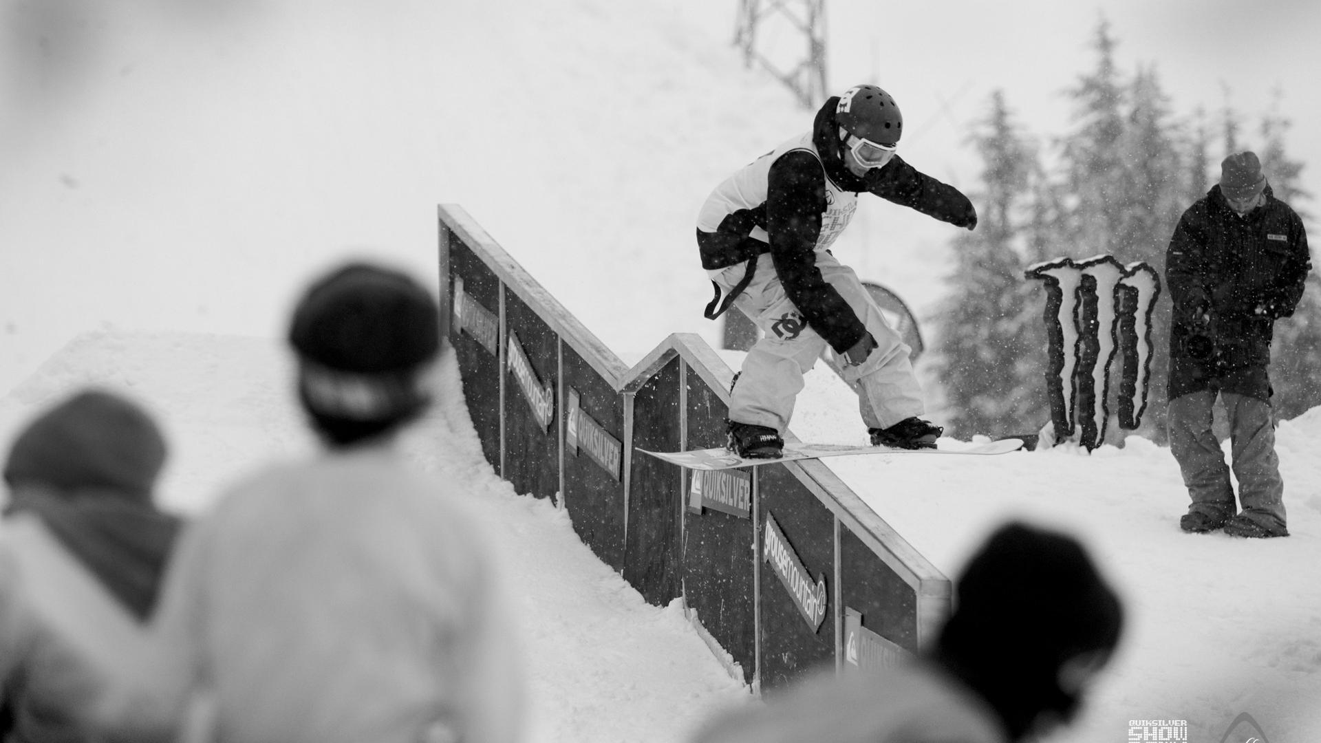 сноубордист трюк, скольжение, скачать фото, обои для рабочего стола