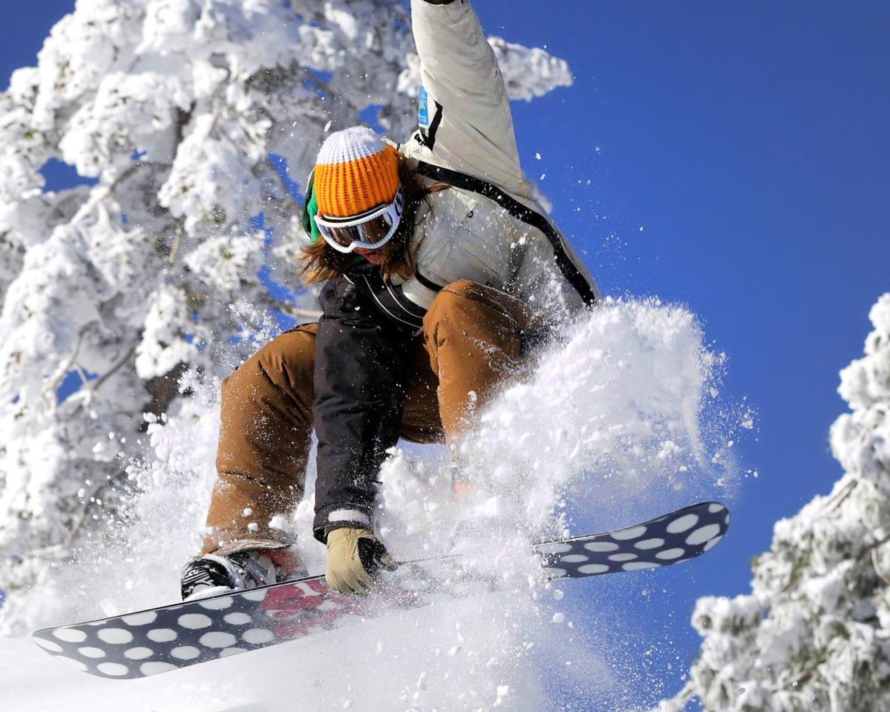 snow, snowboard, wallpaper, скачать фото трюк на сноуборде, обои для рабочего стола