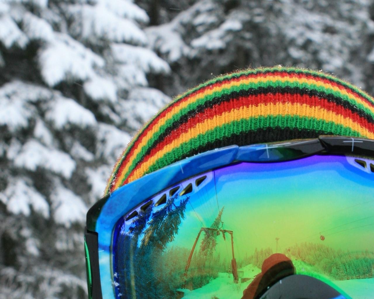 лыжная маска сноубордист фото, обои для рабочего стола, snowboard wallpaper