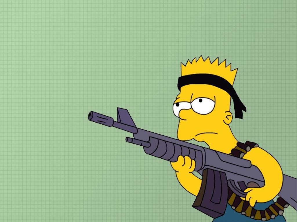 Bart simpson simpsons wallpapers обои для рабочего