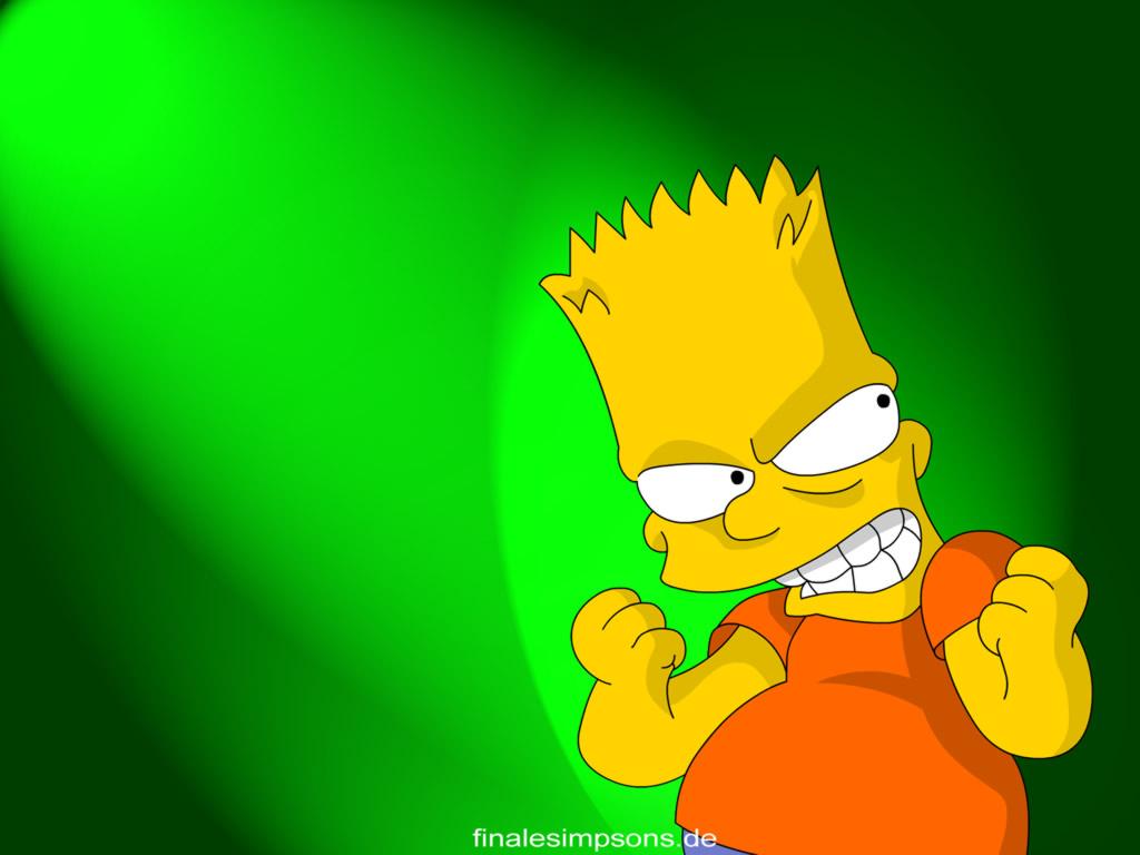Bart Simpson, Simpsons, wallpapers, обои для рабочего стола, Симпсоны, скачать фото