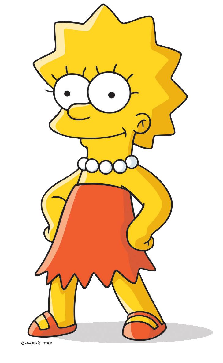 Симпсоны лиза 18 15 фотография