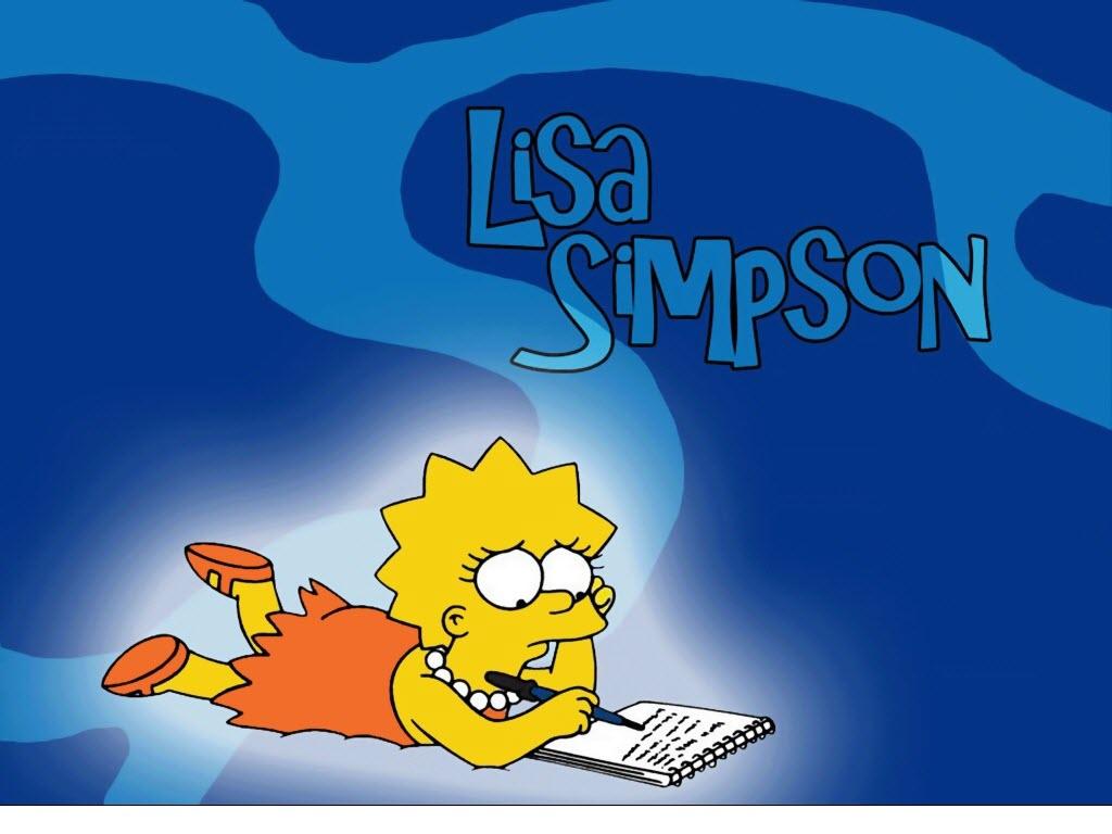 Лиза Симпсон, lisa Simpson, Simpsons, wallpapers, обои для рабочего стола, Симпсоны, скачать фото