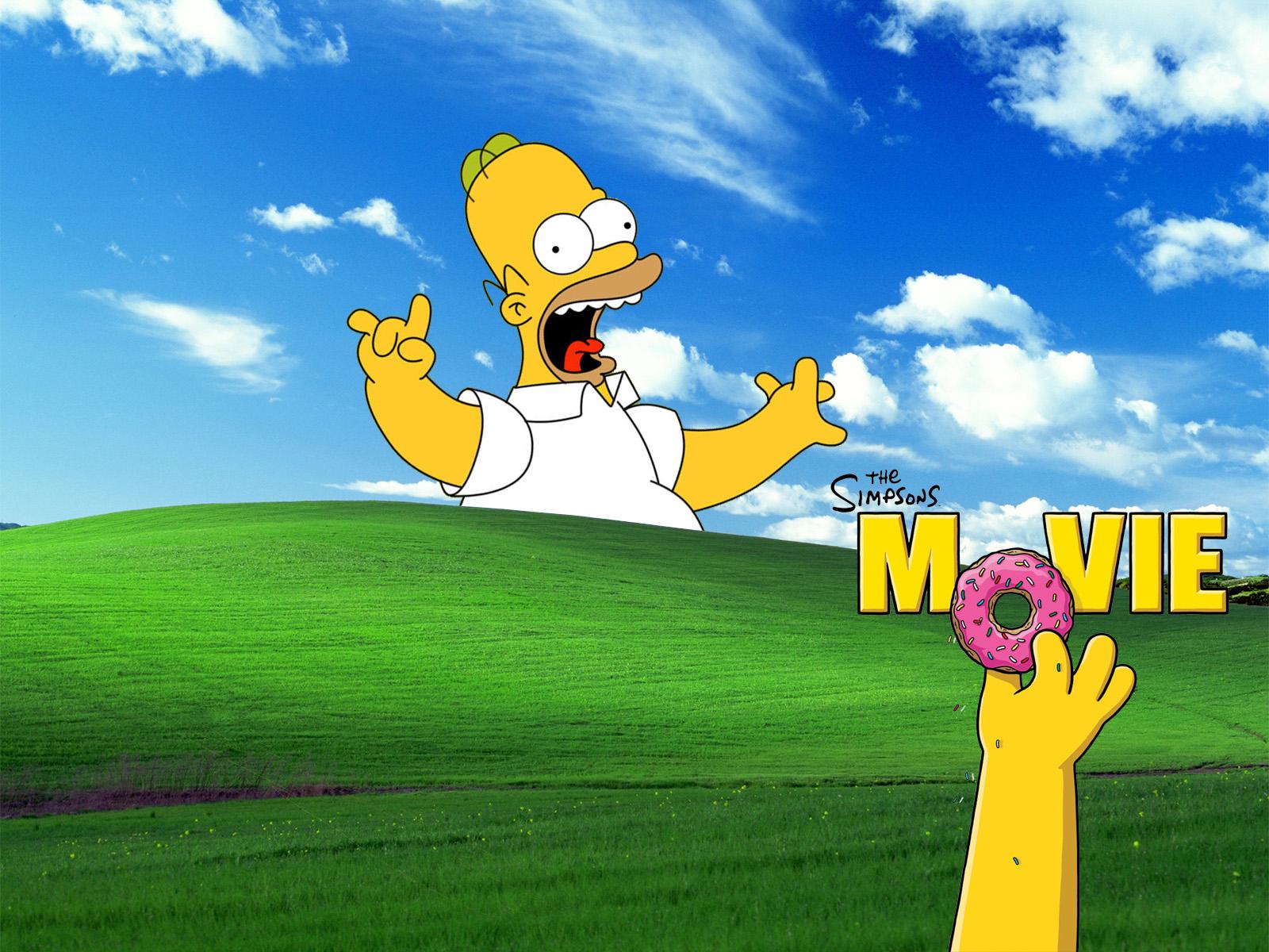 Windows Simpsons, wallpapers, обои для рабочего стола, Симпсоны, скачать фото