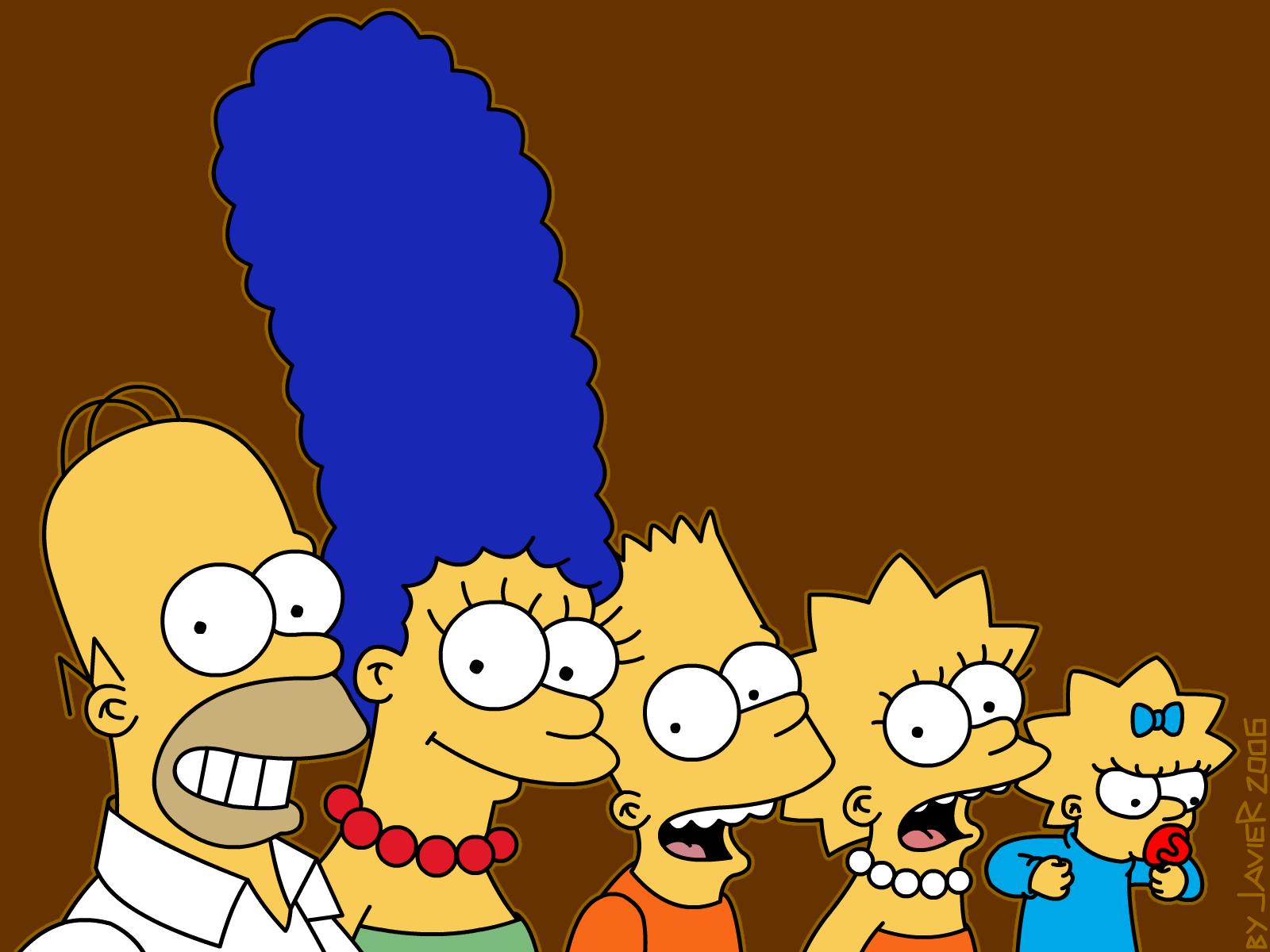 Simpsons, wallpapers, обои для рабочего стола, Симпсоны, скачать фото