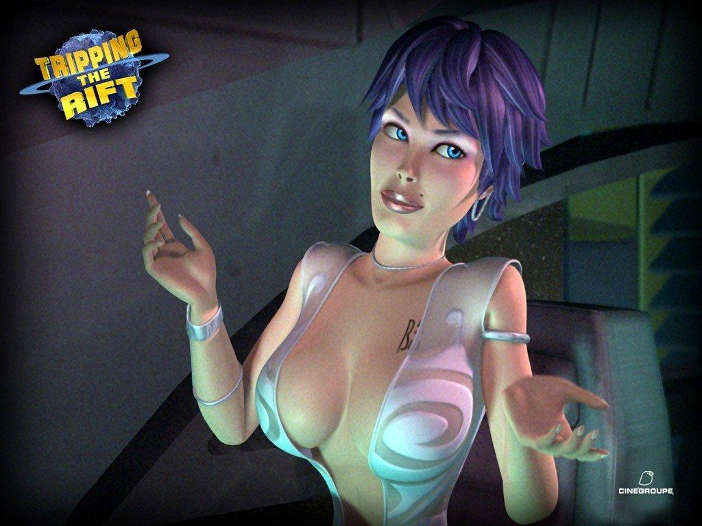 Six, Секси, Tripping the Rift, улетный космос, Расплющенный космос, мультфильм, обои для рабочего стола