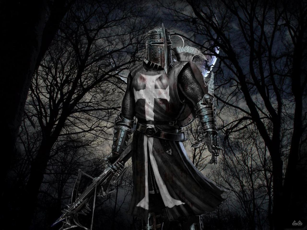 knight, рыцарь крестоносец, скачать фото, обои на рабочий стол