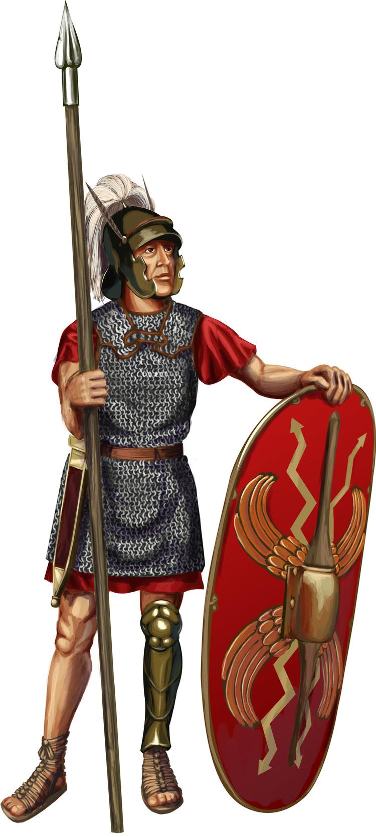 римский легионер с копьем, фото, клипарт, рисунок