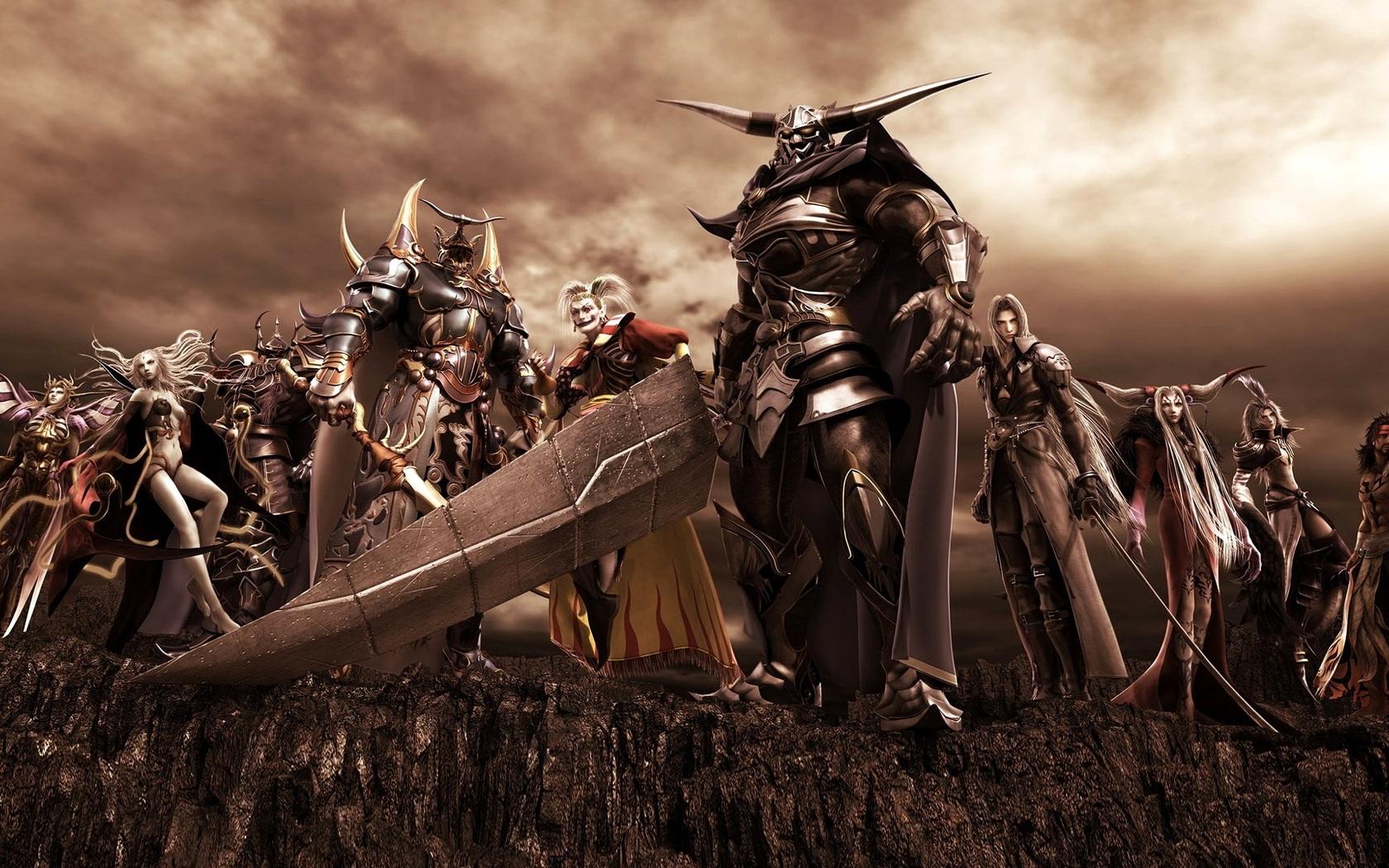 рыцарь с огромным тесаком, скачать рисунок, обои для рабочего стола