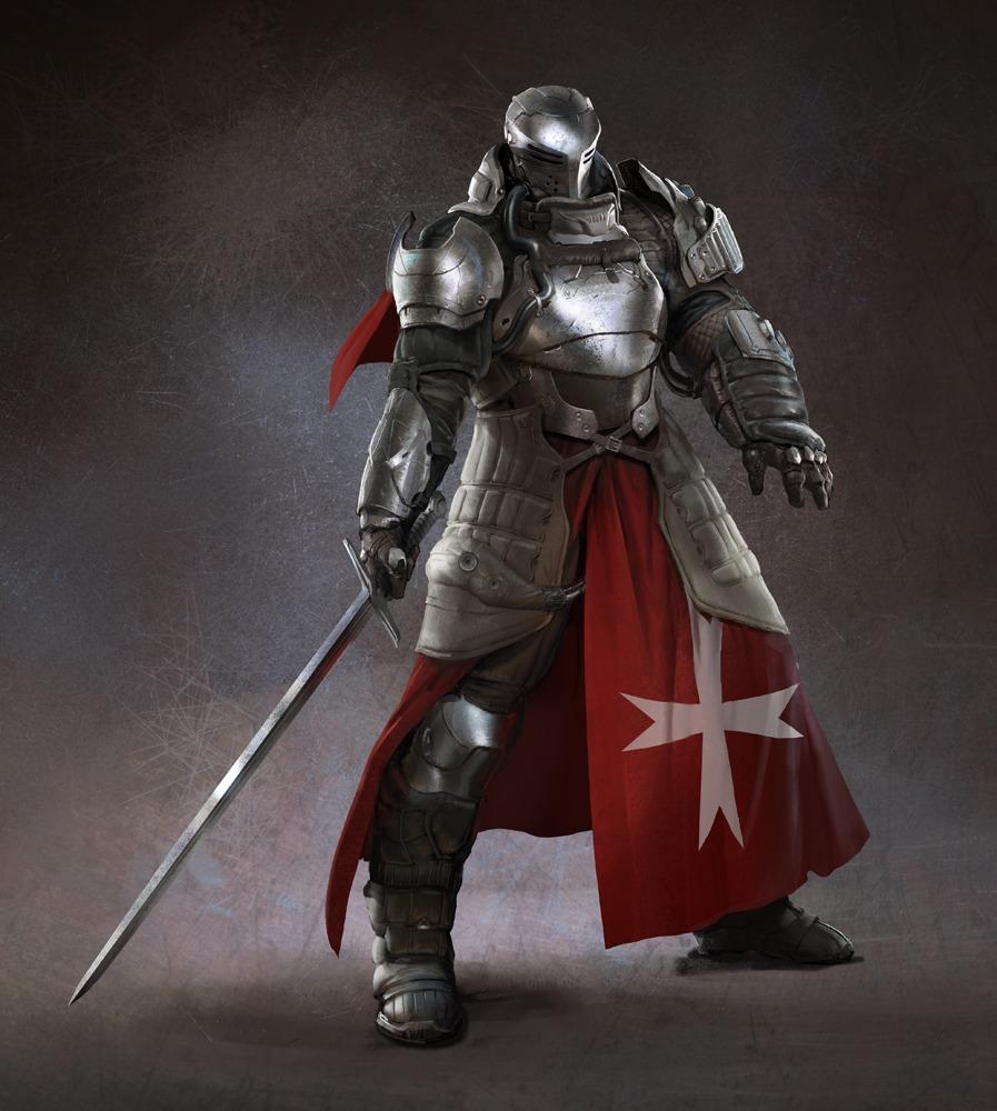 рыцарь крестоносец, knight, wallpaper, скачать рисунок