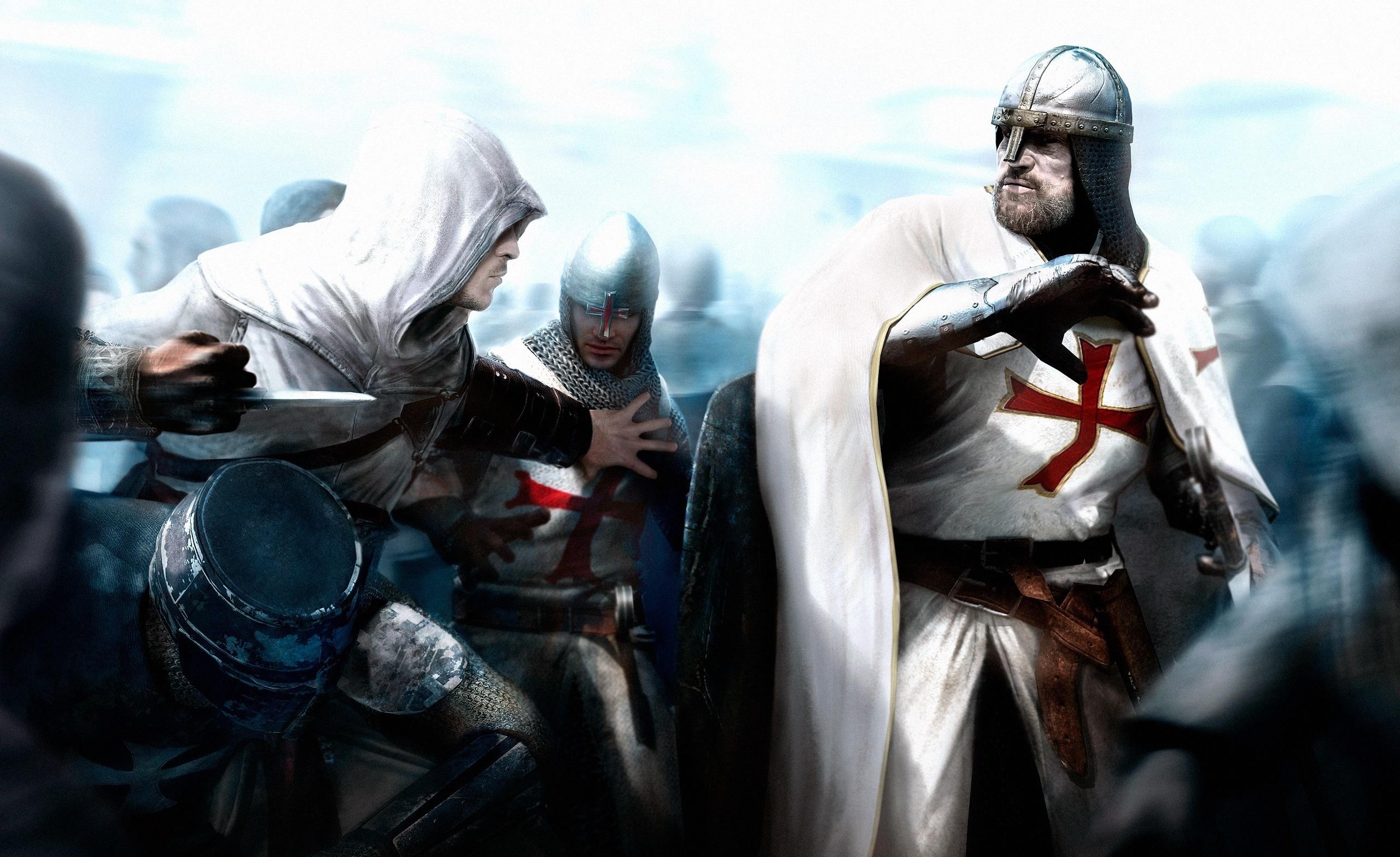 рыцари крестоносцы, скачать фото, обои на рабочий стол, knights