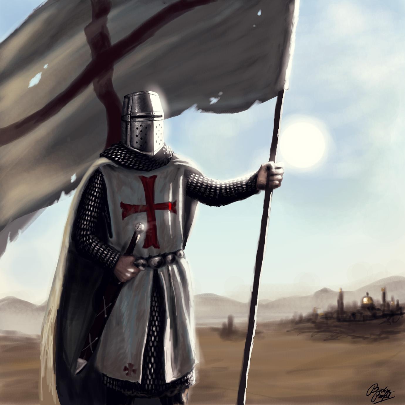 knight, рыцарь тамплиер, скачать фото, обои