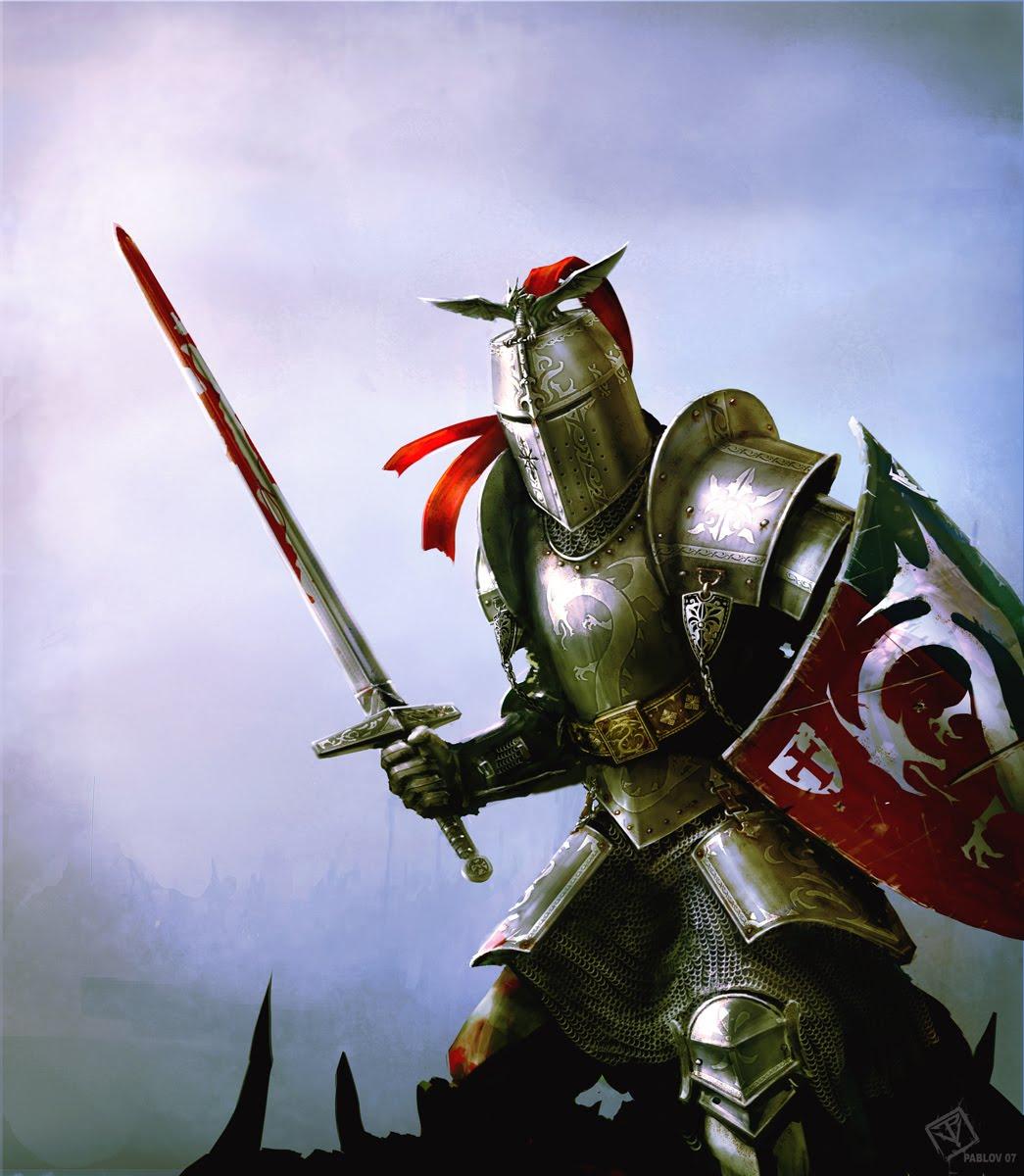 тяжелый рыцарь в доспехах, латы, меч, щить, скачать фото, knight wallpaper, обои на рабочий стол
