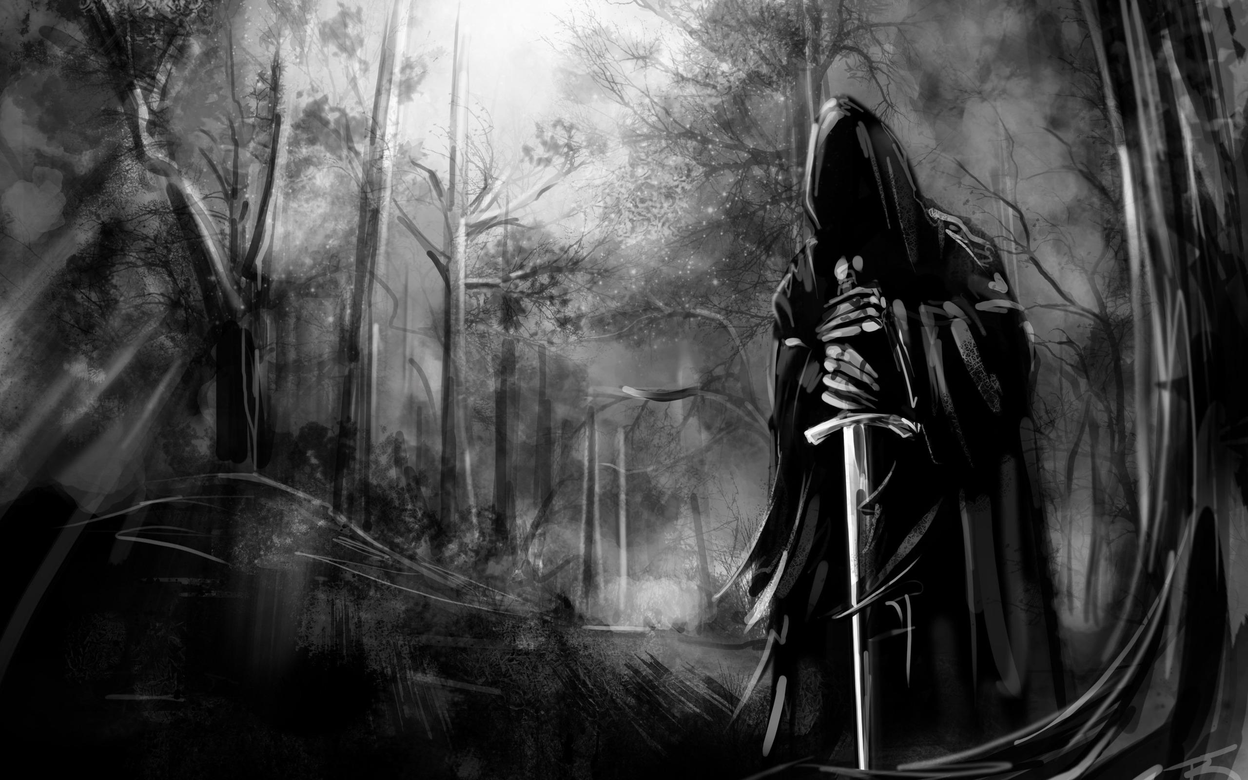 темный рыцарь, рисунок, скачать