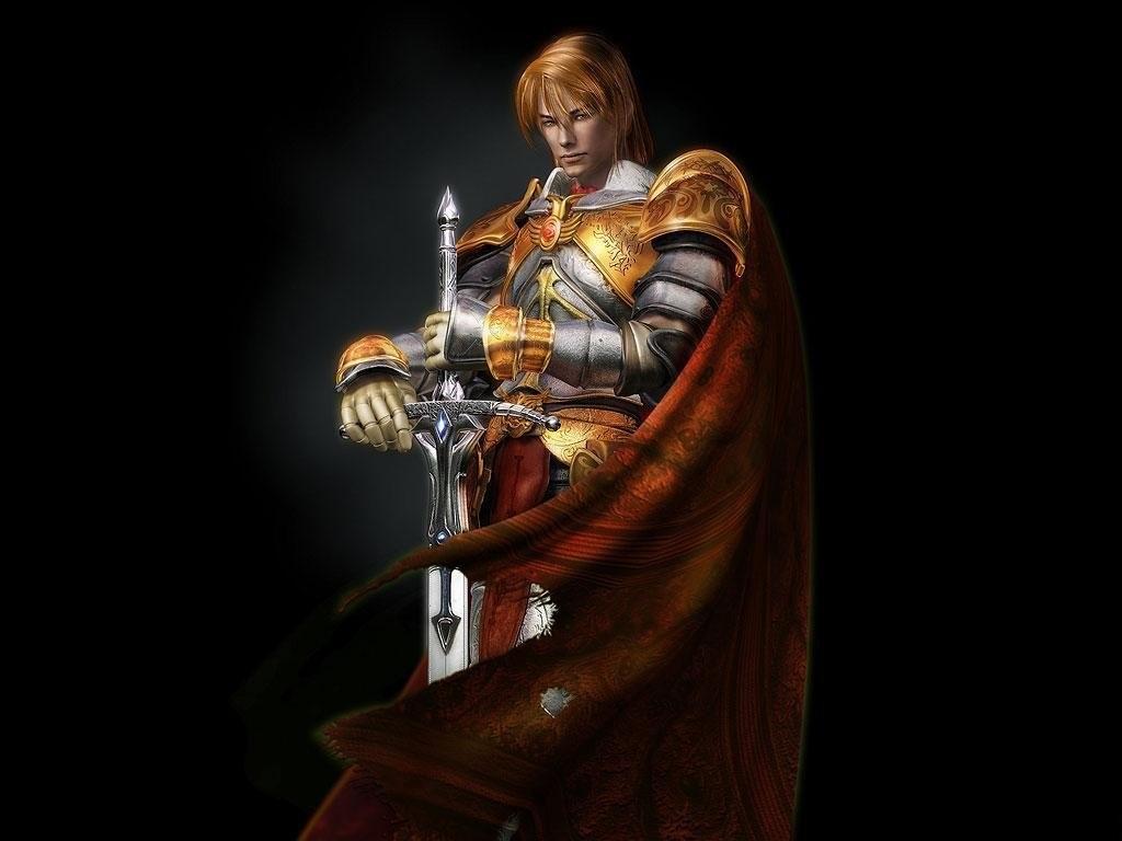 knight, рыцарь с двуручным мечом