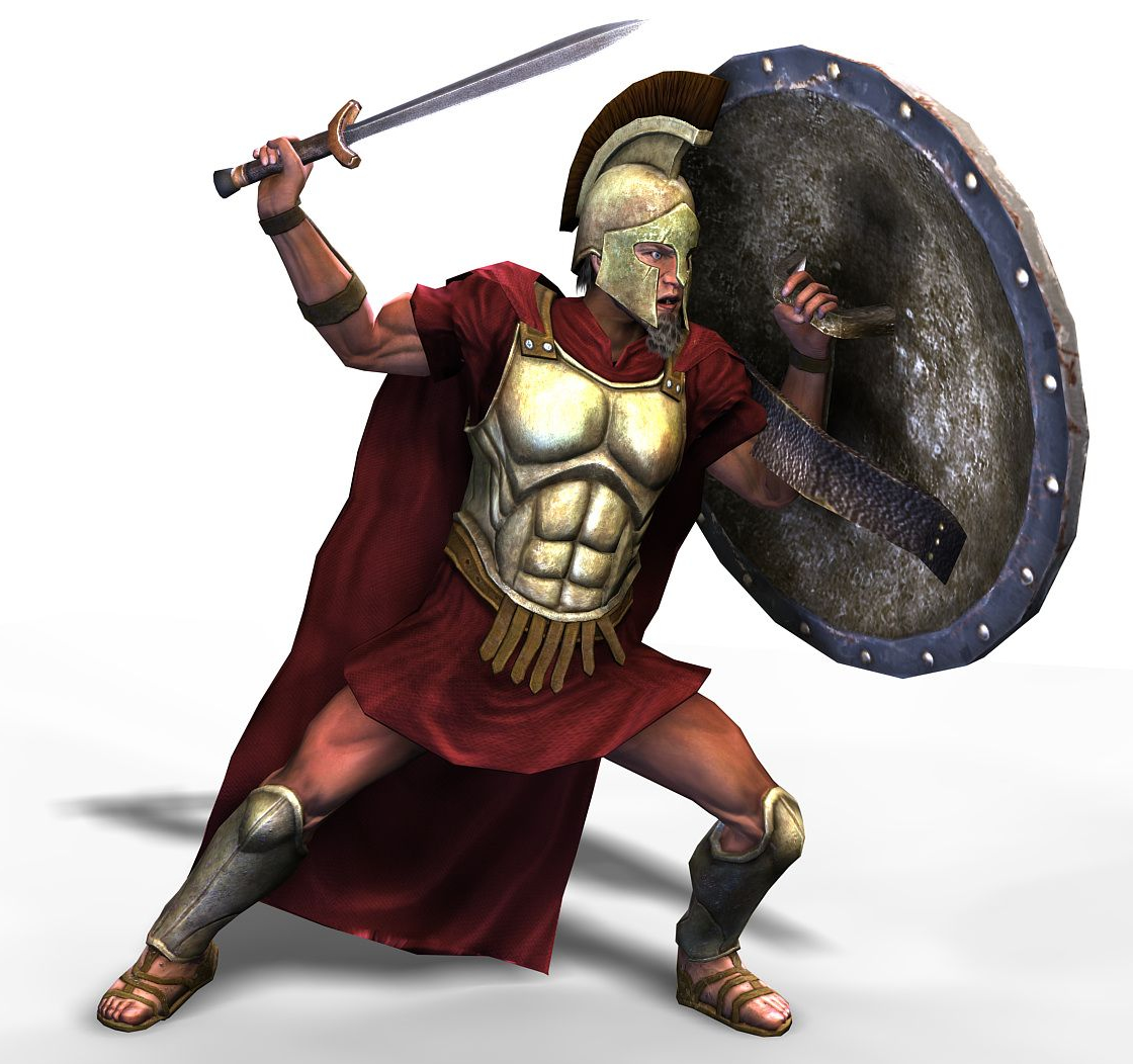 греческий воин, доспехи, щит, мечь, скачать фото, обои для рабочего стола