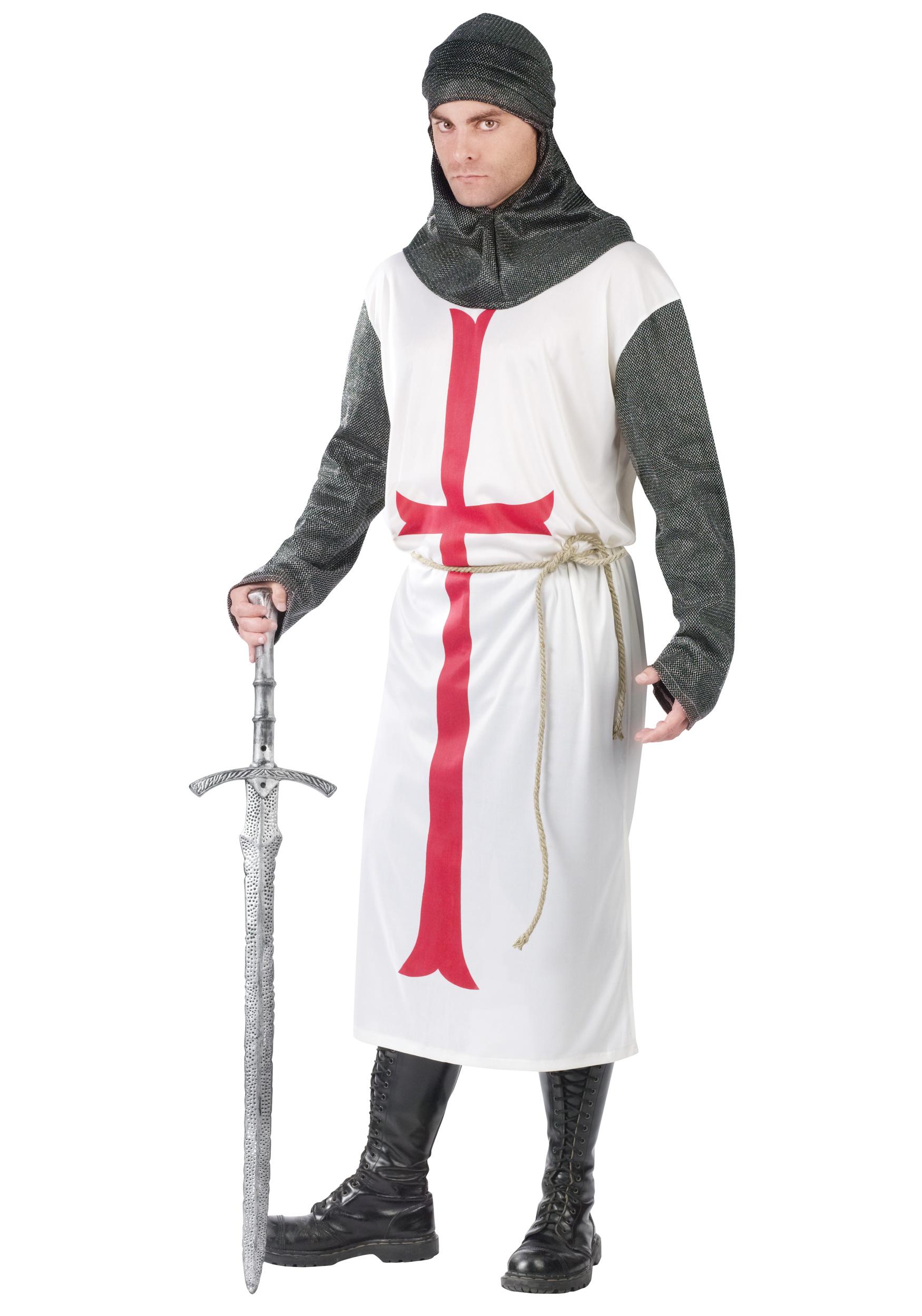 knight templar, рыцарь тамплиер, скачать фото, клипарт, кольчуга, мечь